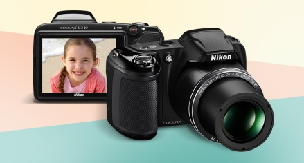 Nikon Coolpix L340 Price in India - Nikon Digital Camera Dealer in India - Nikon L340 price in India